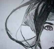 Weird Half Face by Rosanna Jeffery