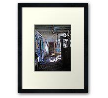 Entry Unknown Framed Print