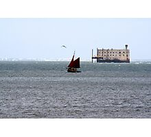 Fort Boyard Photographic Print