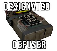 Designated Defuser Photographic Print