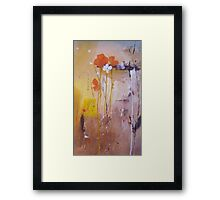 The Wallflowers Framed Print
