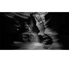 Ghost in the Darkness – Antelope Canyon, Arizona Photographic Print