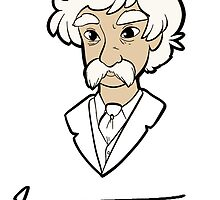 Mark Twain himself by huckly