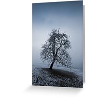 moody tree Greeting Card