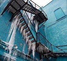 Frozen Waterfalls by Art UnderUs