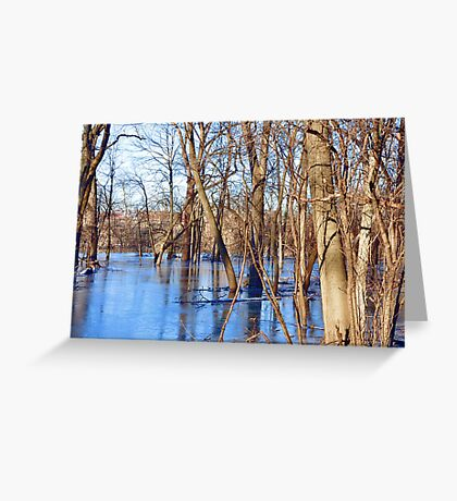 Central Plains Flooding Greeting Card