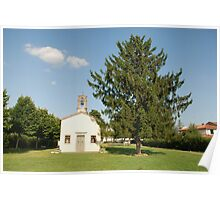 Chiesa di San Giovanni with Tree Poster