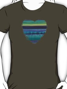Stop Listening to the Static - Abstract Heart T-Shirt