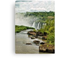 Iguaçu falls Canvas Print
