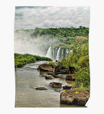 Iguaçu falls Poster