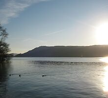 Lake Windermere in December 2008 by blueclover