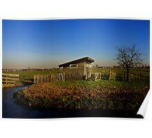 Dutch Landscape Poster