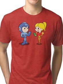 Hand Canon Love Tri-blend T-Shirt