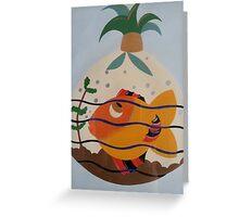Big Tropical Fishy Greeting Card