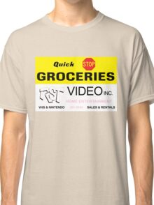 Quick Stop Groceries and RST Video Inc. Classic T-Shirt