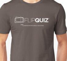 FlipQuiz Logo and Tagline Unisex T-Shirt