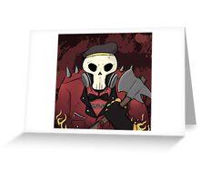 Fire Man Greeting Card