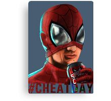 Spiderman - No background colour Canvas Print