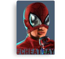 Spiderman - No background colour Canvas Print