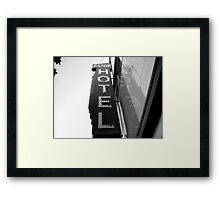Astor Hotel Framed Print