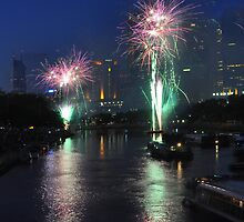 Fireworks #1 by Peter Hammer