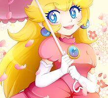 Princess Peach by bunnyloz