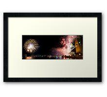 Sydney Fireworks NYE 2008 Framed Print