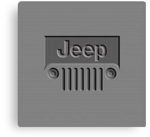 JEEP WRANGLER Canvas Print