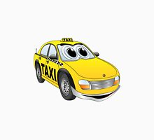 Taxi Cab Cartoon Unisex T-Shirt
