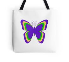 Fibromyalgia Butterfly 2 Tote Bag