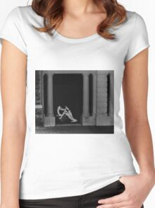"""""""Naked Arrogance""""  Women's Fitted Scoop T-Shirt"""