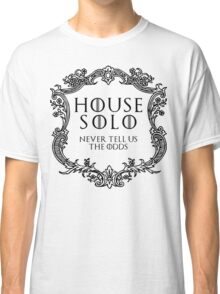 House Solo (black text) Classic T-Shirt