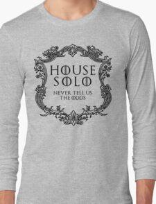 House Solo (black text) Long Sleeve T-Shirt