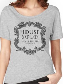 House Solo (black text) Women's Relaxed Fit T-Shirt