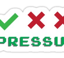 No Pressure Promotion Series Sticker