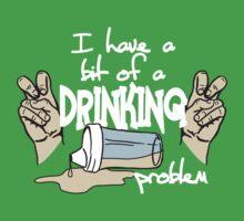 DRINKING PROBLEM One Piece - Short Sleeve
