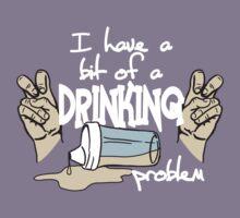 DRINKING PROBLEM Kids Tee