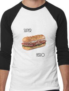 Super Hero Men's Baseball ¾ T-Shirt