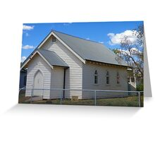 Quandialla Community Church Greeting Card