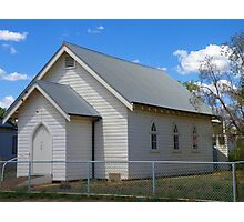 Quandialla Community Church Photographic Print