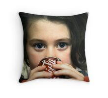 Coke Before Bed Throw Pillow