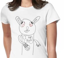 The Vampire Bunny Womens Fitted T-Shirt