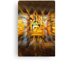 Golden Budda Canvas Print