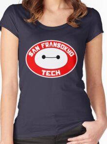 San Fransokyo Institute of Tech Women's Fitted Scoop T-Shirt