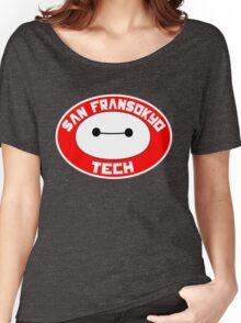 San Fransokyo Institute of Tech Women's Relaxed Fit T-Shirt