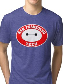 San Fransokyo Institute of Tech Tri-blend T-Shirt