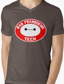 San Fransokyo Institute of Tech Mens V-Neck T-Shirt