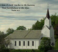 Norwegian Church by Jenny Brice
