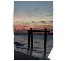 Hamelin Bay Sunset Poster