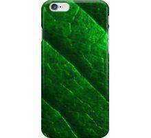 Green Metal Leaf iPhone Case/Skin